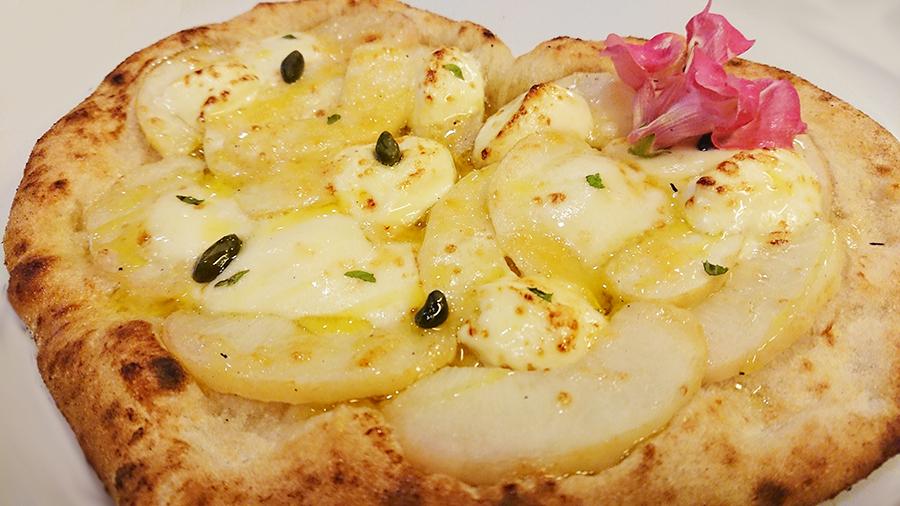 ももとマスカルポーネチーズのピッツァ ¥1650